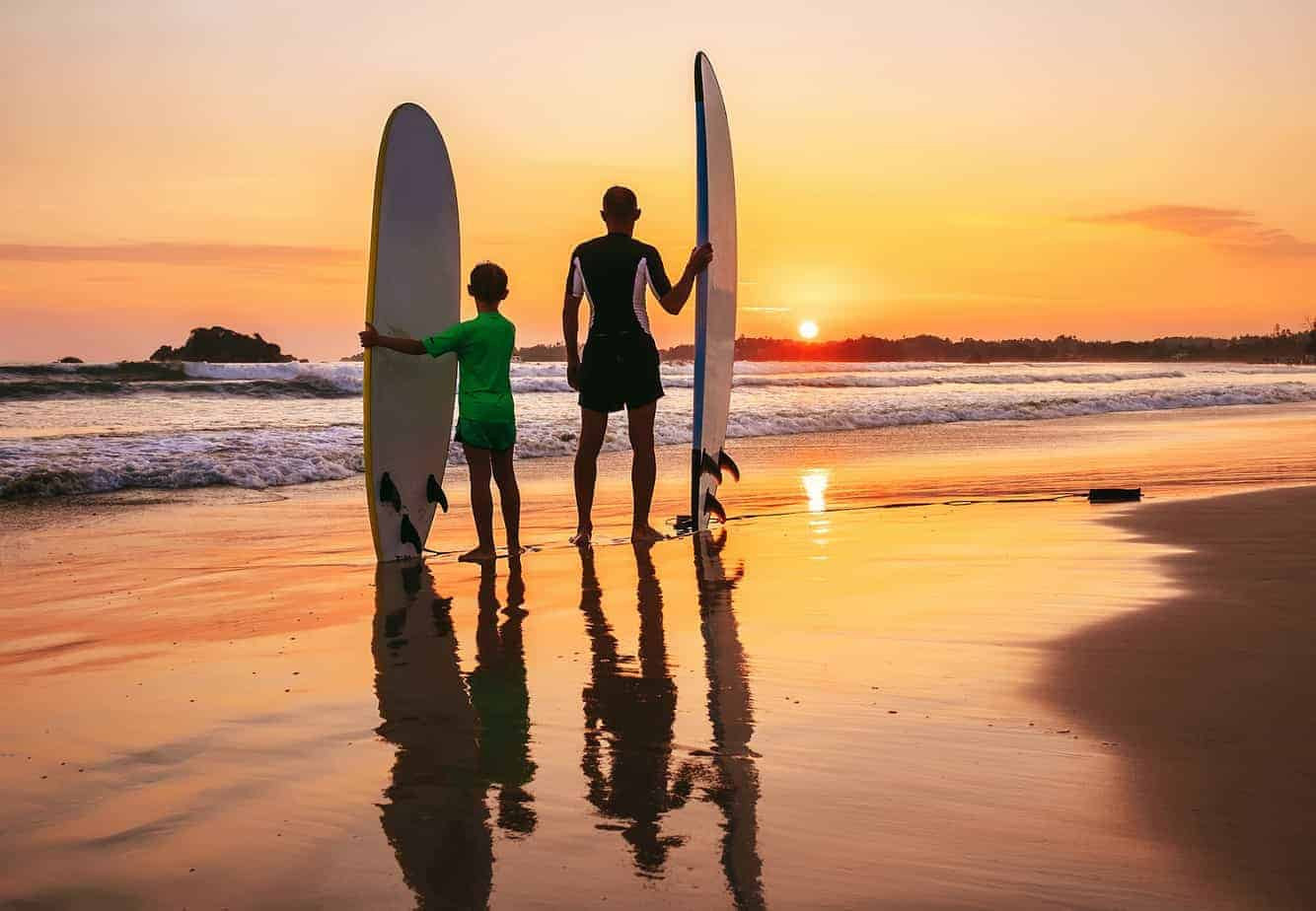 sunset-surfing-family-vacations