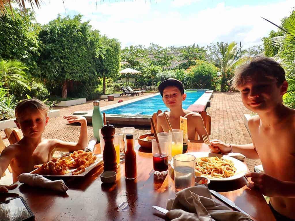 Sunset Cantina, Malibu Popoyo Boutique Surf Resort, Nicaragua
