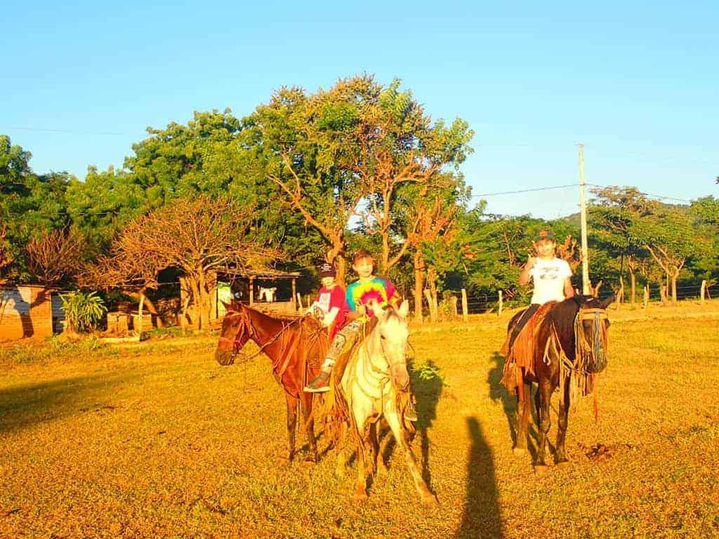 Horseriding, Malibu Popoyo, Nicaragua