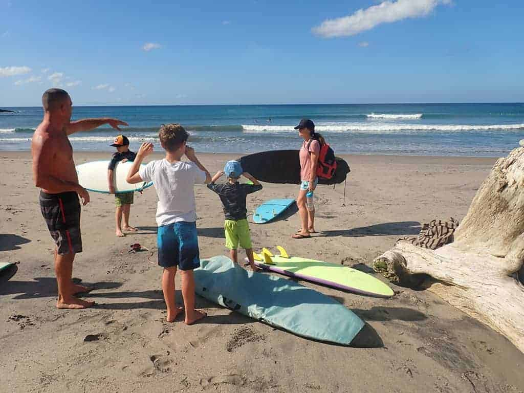 Beginners Bay, Malibu Popoyo, Surf Guides