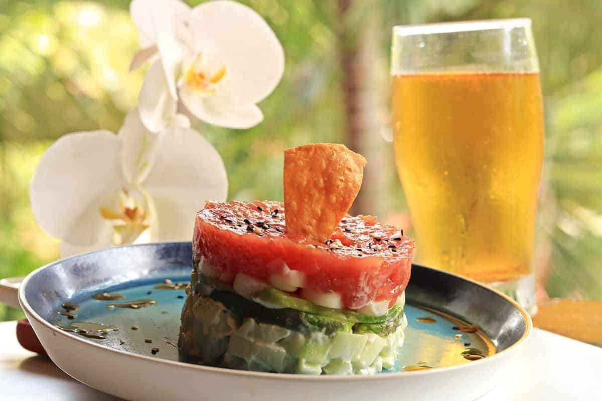 Food, Tuna Tower, RipJack Inn, Costa Rica