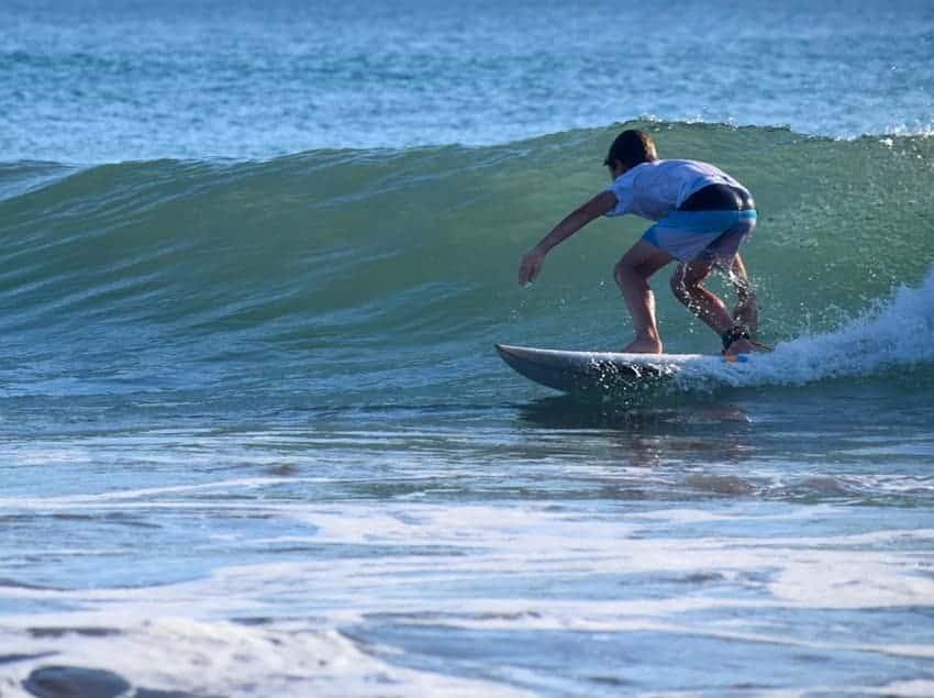 Oli surf Santana Nicaragua