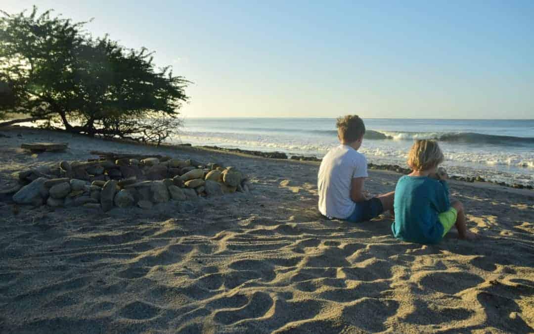 Family surfing holidays at MALIBU POPOYO