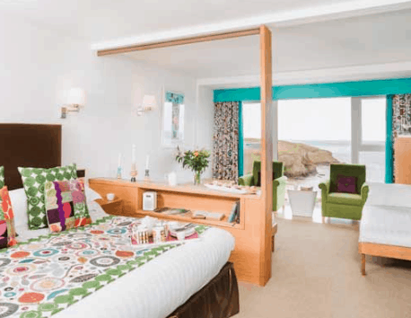Apartment suite, Bedruthan, Cornwall