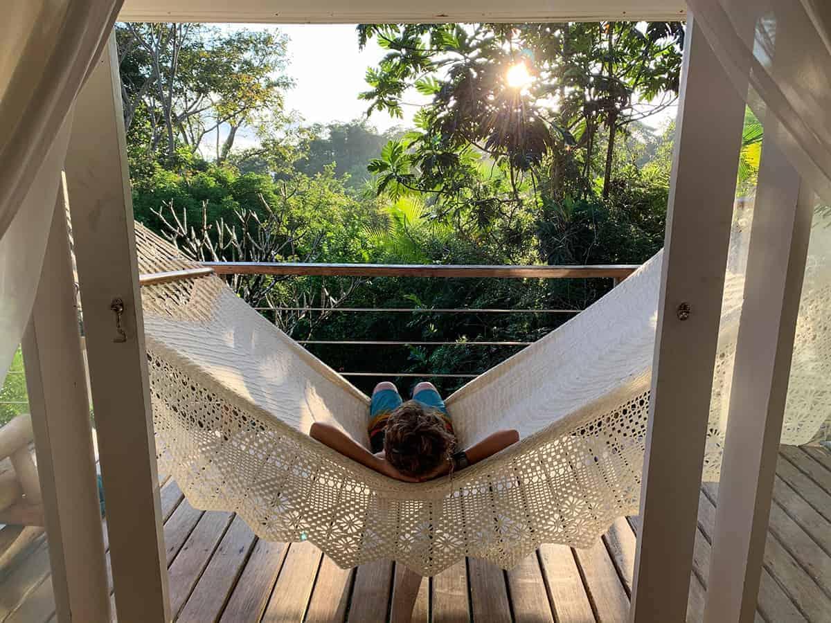 Hammock, Osa Clandestina, Osa Península, Costa Rica, Family Surf co