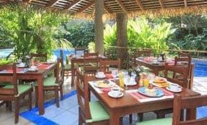 El Manglar Restaurant at Olas Verdes Hotel, Playa Guiones, Nosara, Costa Rica
