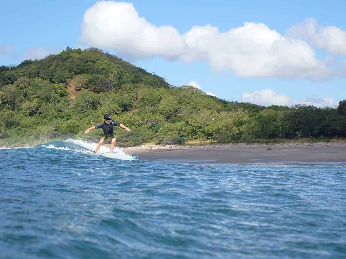 Leo Surfboard, Finca Popoyo, Malibu Popoyo, Nicaragua, Surfboards UK, Family Surf Co