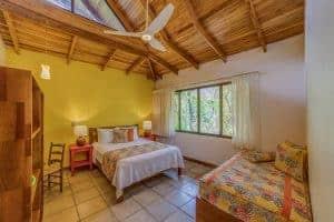 Bedroom, Luxury Suite, Olas Verdes Hotel, Playa Guiones, Nosara, Costa Rica