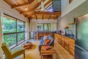 Living room, second floor suite, Olas Verdes Hotel, Playa Guiones, Nosara, Costa Rica