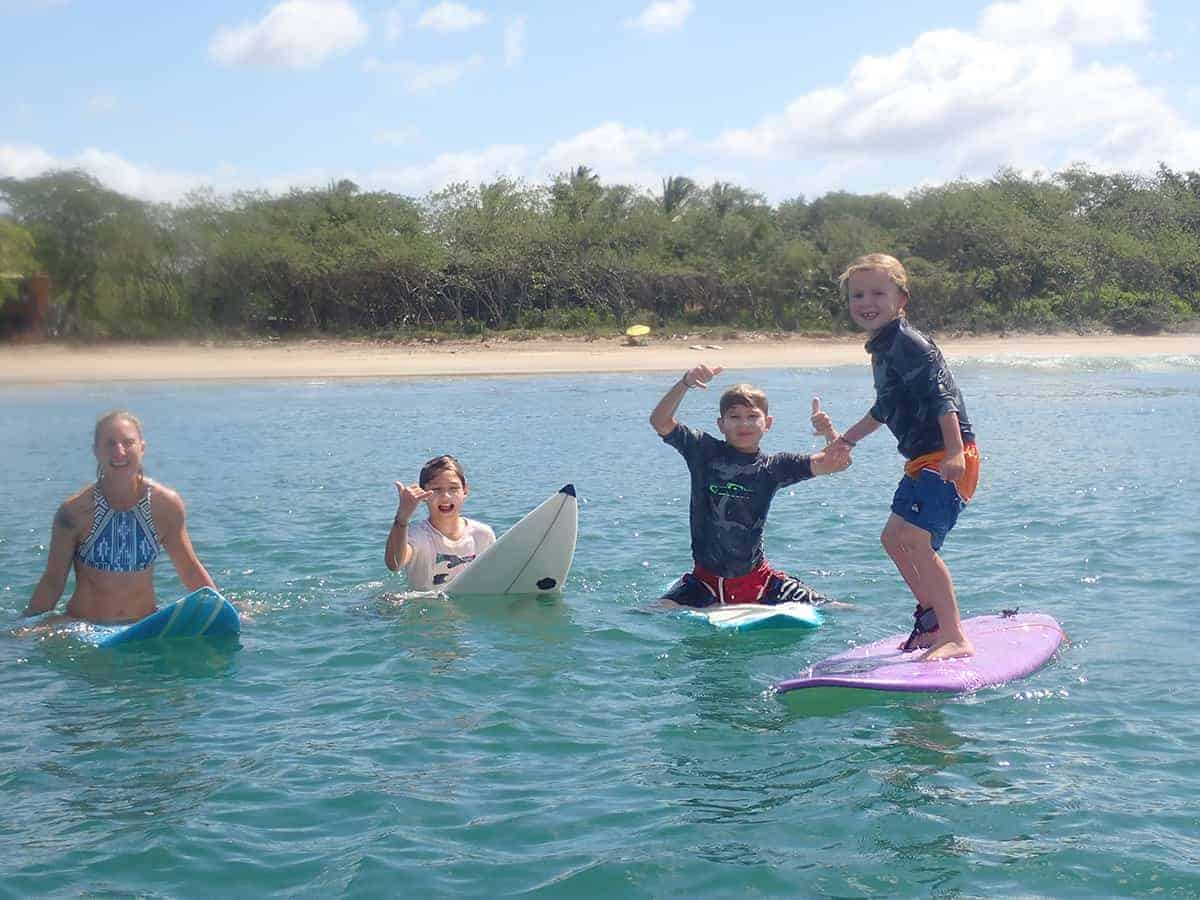 Family Surfing, Playa Grande, Costa Rica, Family Surf Co