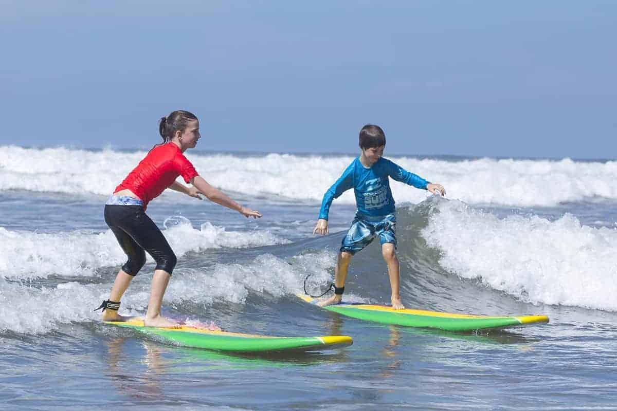 Surf school, Olas Verdes Hotel, Playa Guiones, Nosara, Costa Rica