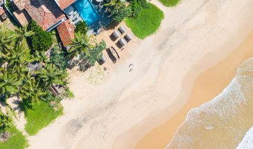 Beach, At Ease Hotel, Hikkaduwa, Sri Lanka, Family Surf Co