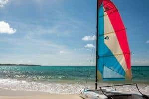 Sailing, Sea Breeze Beach House, Maxwell Beach, Christ Church, Barbados