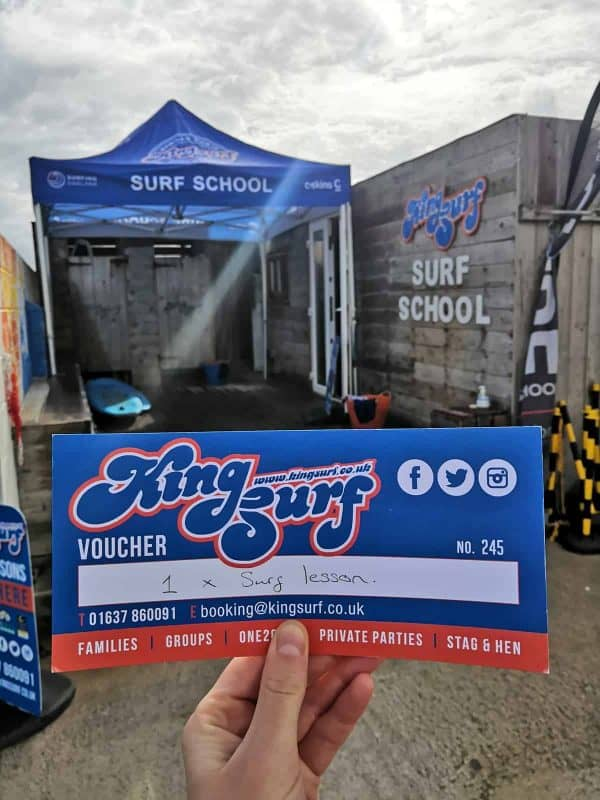 King Surf voucher
