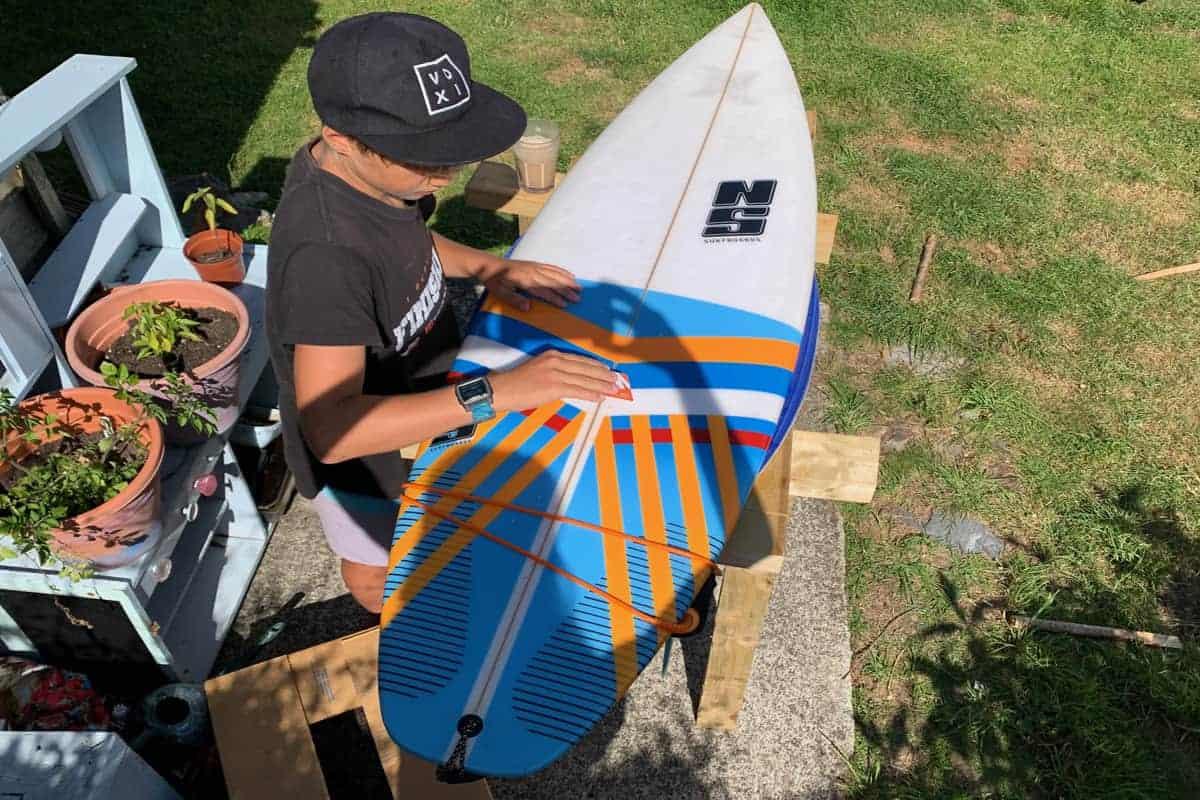 Oli, Ding repair, Lockdown, Family Surf Co.