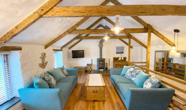 Merlin Farm, self-catering cottages, family surfing holiday, Cornwall, Family Surf Co