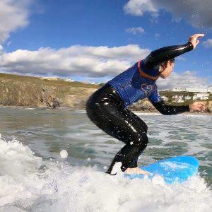 Mums Surf Club, Mawgan Porth, Cornwall, Family Surf Co, Kingsurf